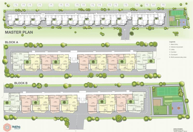 Images for Master Plan of Hatha Coco Nest