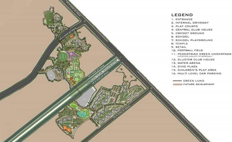 Images for Master Plan of Lodha Upper Thane Tiara I
