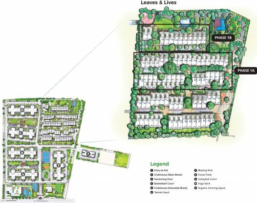 Images for Master Plan of Assetz Leaves And Lives Phase 1