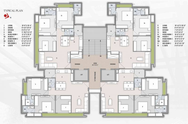 Images for Cluster Plan of Amiraj Mulberry Height
