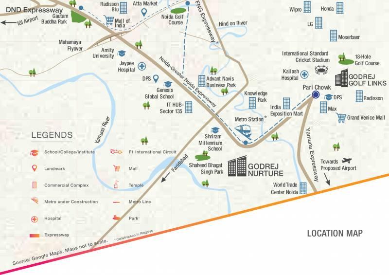 Images for Location Plan of Godrej Nurture Phase 1