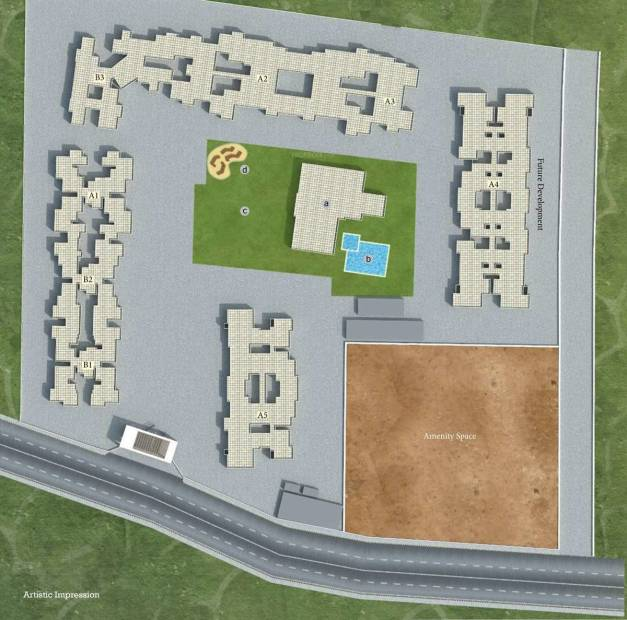 Images for Layout Plan of Tricon Sunshine Hills Phase ll A5
