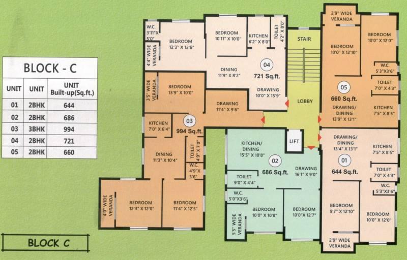 Images for Cluster Plan of Artisan Residency