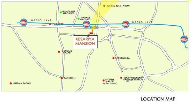 Images for Location Plan of Sajjan Kesariya Mansion