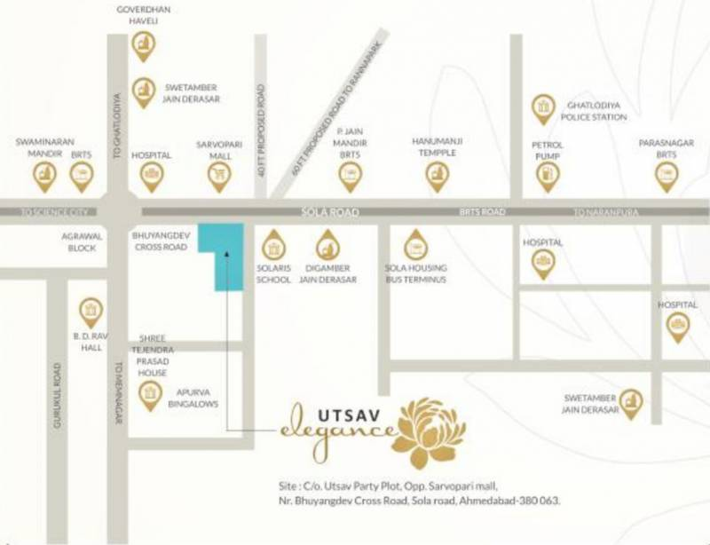 Images for Location Plan of Utsav Elegance