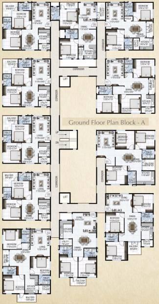 Images for Cluster Plan of Sai Krupa Heritage