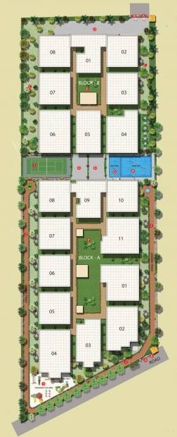 Images for Layout Plan of Sai Krupa Heritage