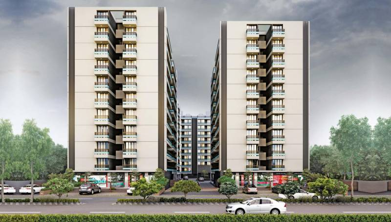Images for Elevation of Krishna Dharti Saket Height