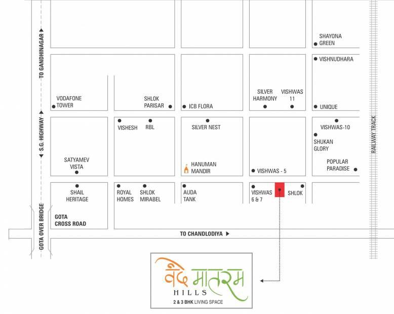 Images for Location Plan of Aaryan Vandematram Hills