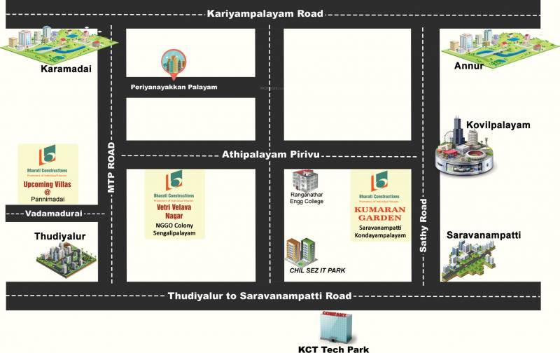 Images for Location Plan of ABI Vetri Velava Nagar