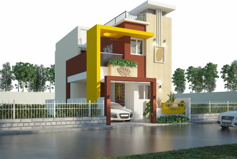 1600 sq ft 3 BHK 4T Villa for Sale in ABI Infrastructure