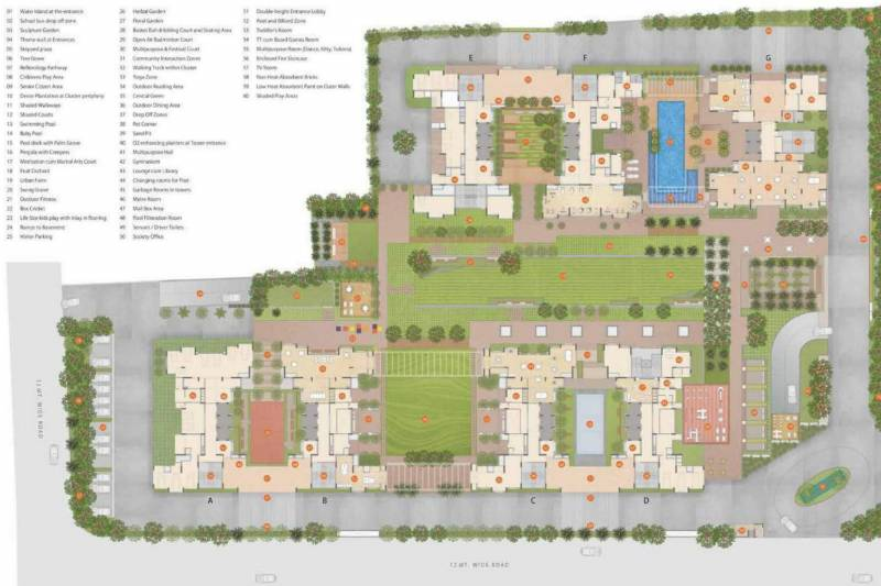 Images for Layout Plan of Godrej Green Glades