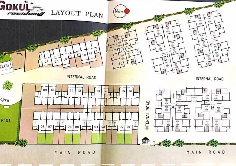 Images for Layout Plan of Shreeji Gukul Residency