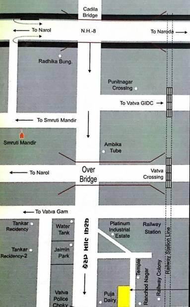 Images for Location Plan of Shreeji Gukul Residency
