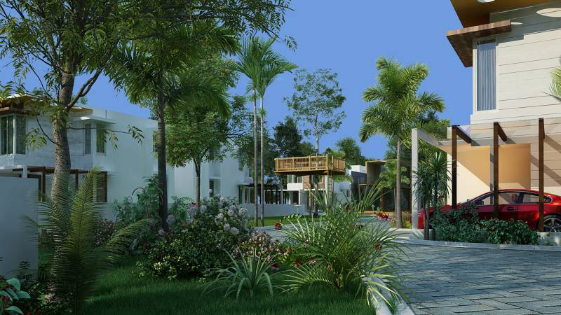Images for Elevation of IndusGratia Green Rich Villas