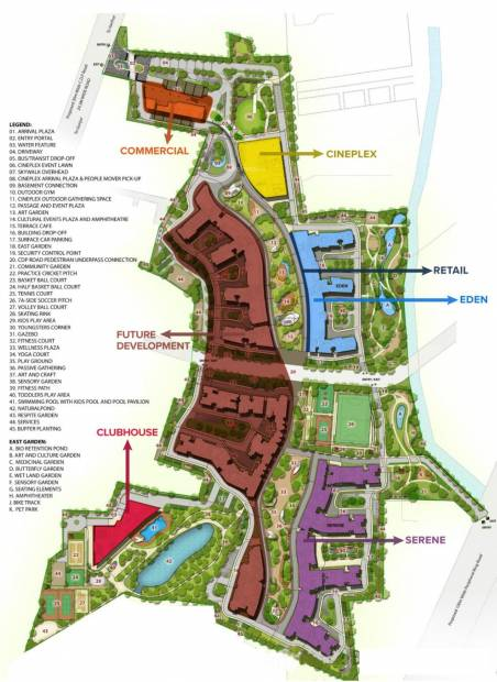 Images for Layout Plan of Brigade Eden At Brigade Cornerstone Utopia