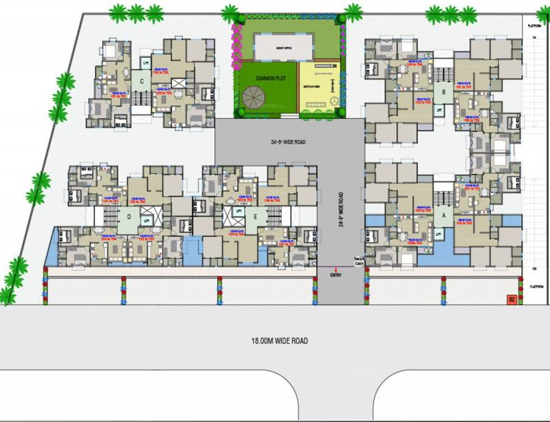 Images for Layout Plan of Dharti Exotica