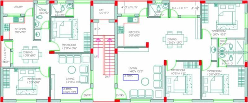 Images for Cluster Plan of SVL SR Residence