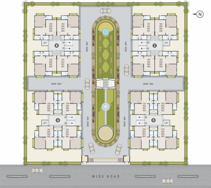 Images for Layout Plan of Devanshi Swagat Homes