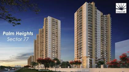 Images for Elevation of Emaar Palm Heights
