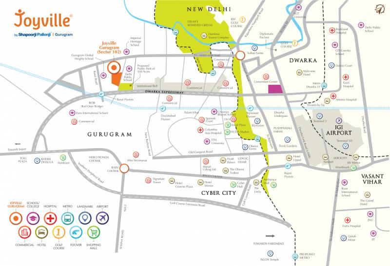 Images for Location Plan of Shapoorji Pallonji JoyVille