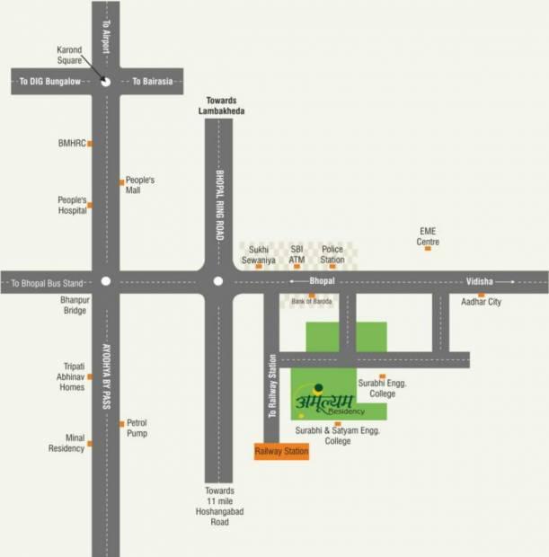 Images for Location Plan of Sar Amulyam Residency Phase I
