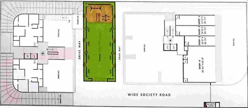 Images for Cluster Plan of Nilkanth Dharm Lekh