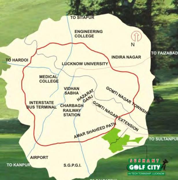 Images for Location Plan of Ansal Pocket 2 Sector K