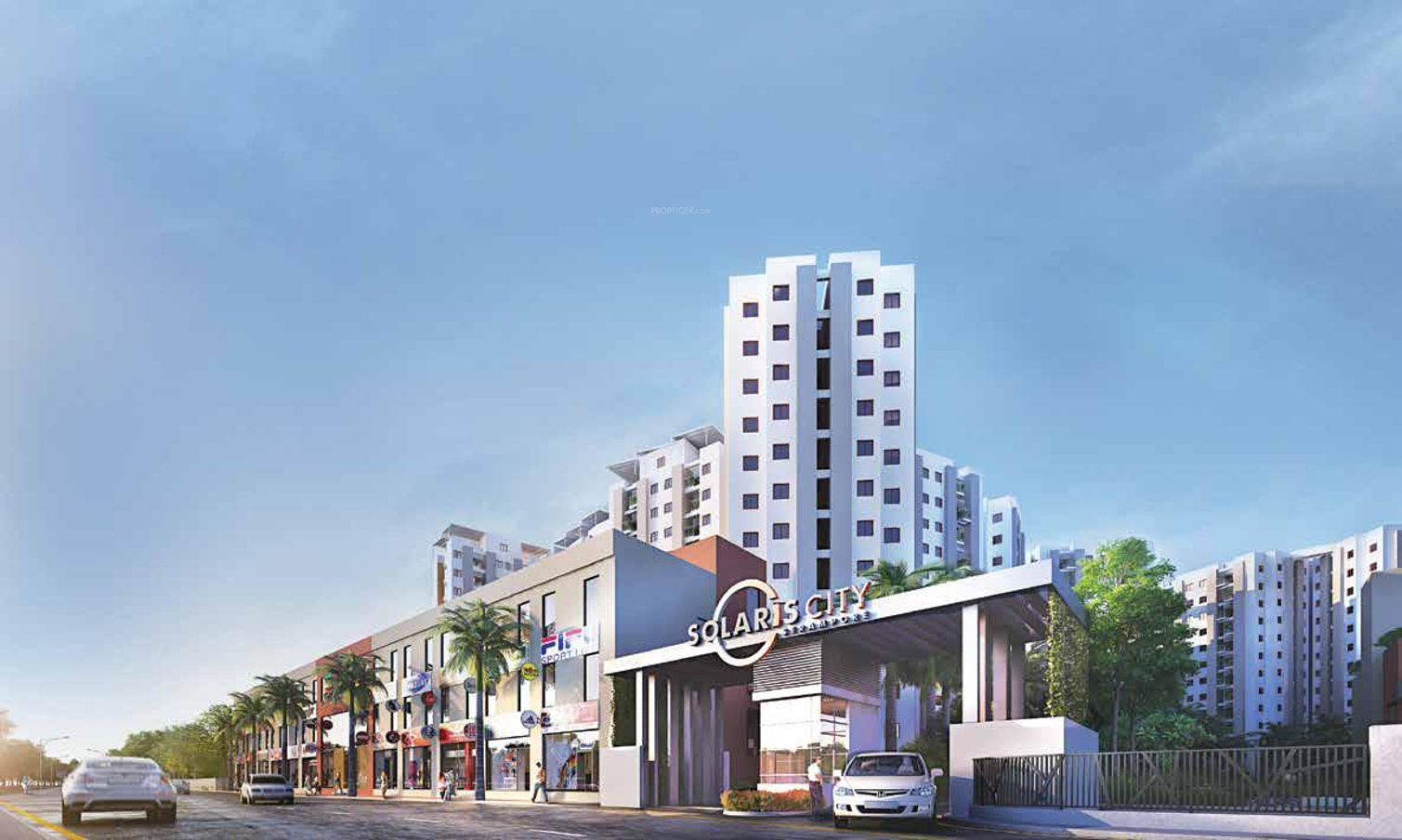 400 Sq Ft 1 Bhk 1t Apartment For Sale In Eden Realty Group Solaris