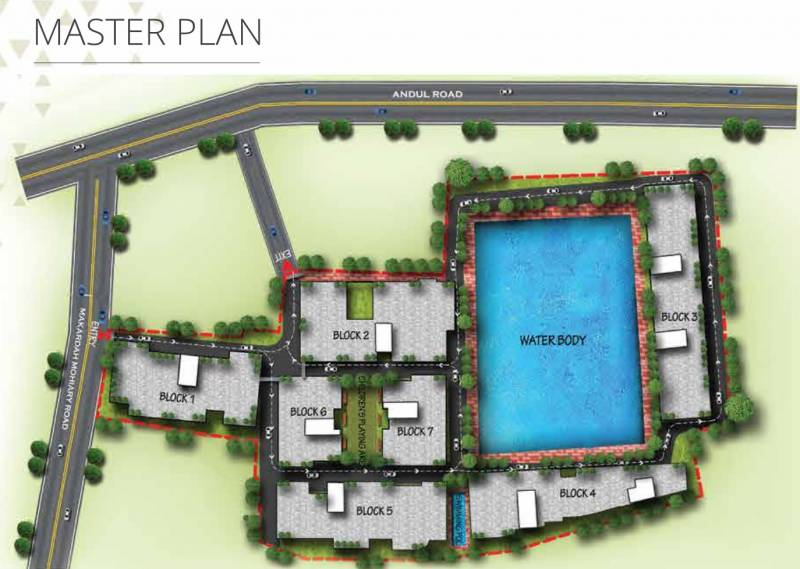 Images for Master Plan of RDB Regent Lakeview