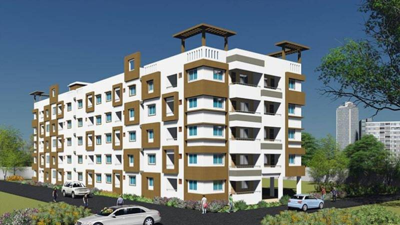 gitanjali-apartments Images for Elevation of NPR Gitanjali Apartments
