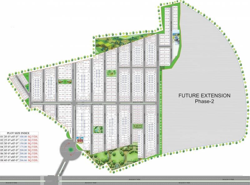 Images for Layout Plan of Landmark Silverwood Plot