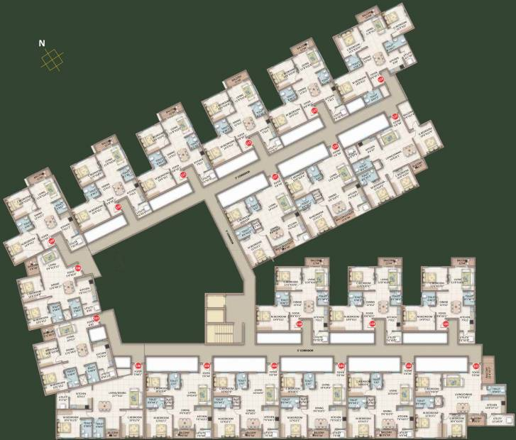 Images for Cluster Plan of ASN Serenity