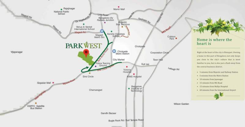 Images for Location Plan of Shapoorji Pallonji ParkWest Mahogany Tower 7
