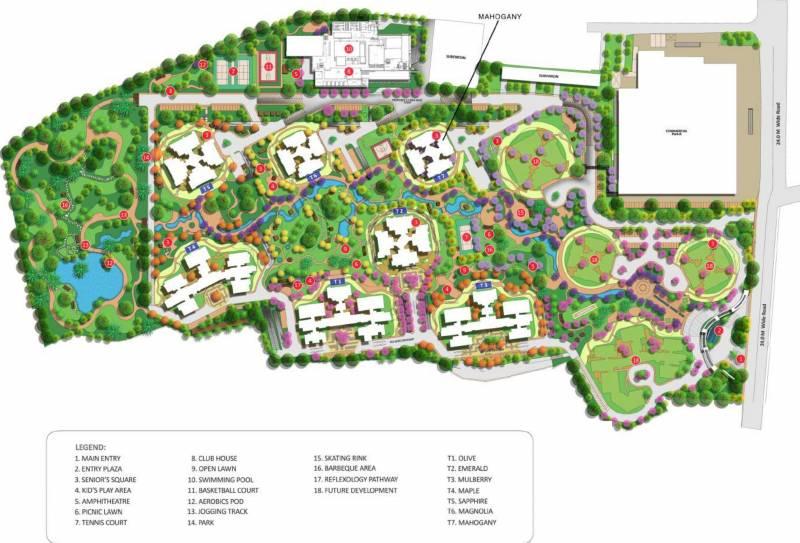 Images for Master Plan of Shapoorji Pallonji ParkWest Mahogany Tower 7