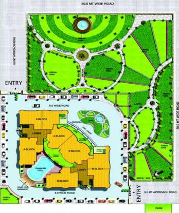 Images for Site Plan of Sukhada Vrindavan