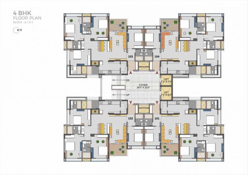 Images for Cluster Plan of Aahna Shilp Shaligram