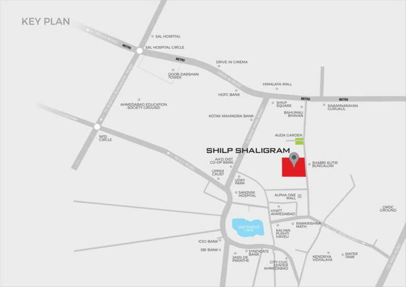 Images for Location Plan of Aahna Shilp Shaligram