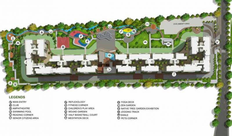 Images for Site Plan of Godrej Aqua