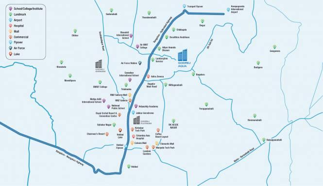 Images for Location Plan of Godrej Aqua