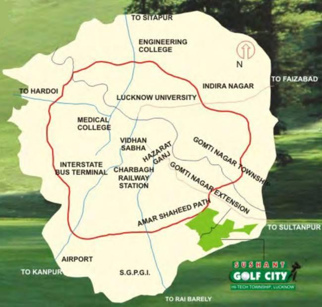 Images for Location Plan of Ansal Celebrity Garden Block P