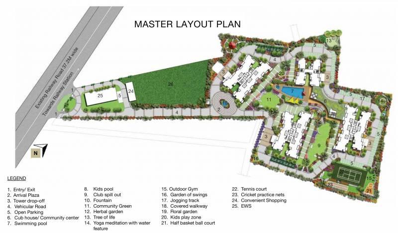 Images for Layout Plan of Godrej Habitat