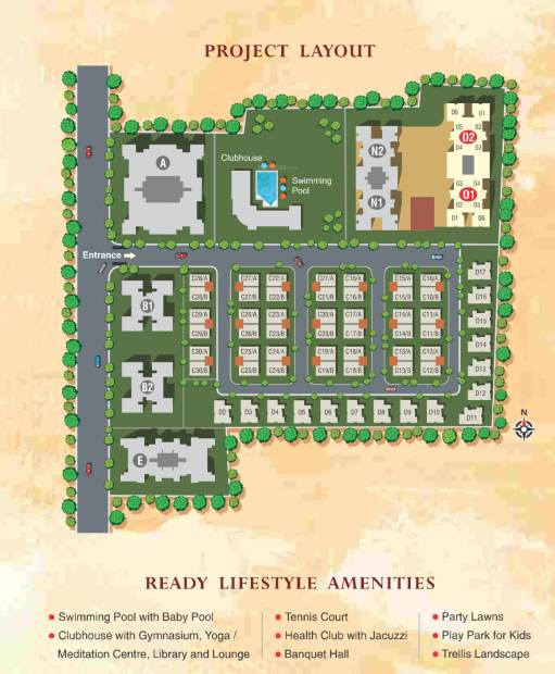Images for Layout Plan of Kumar Picasso O