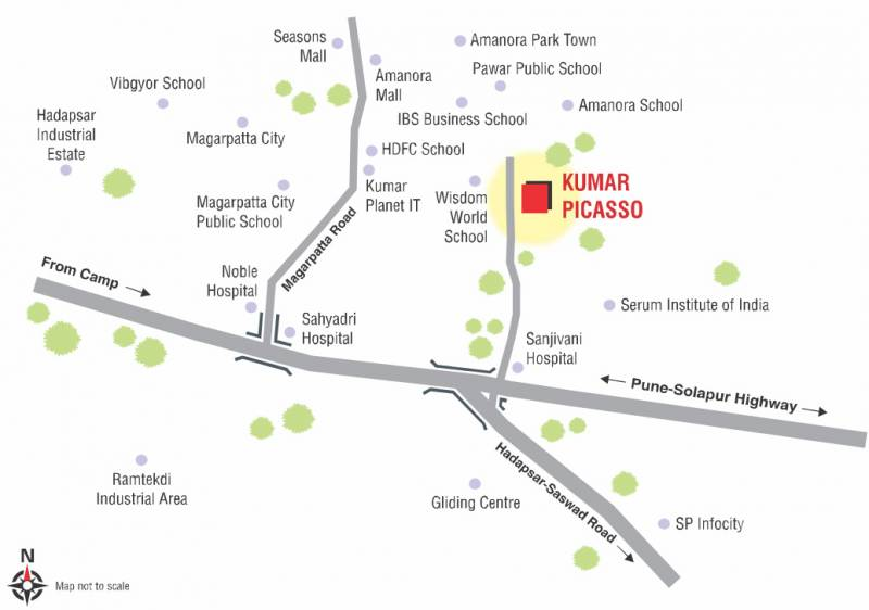 Images for Location Plan of Kumar Picasso O