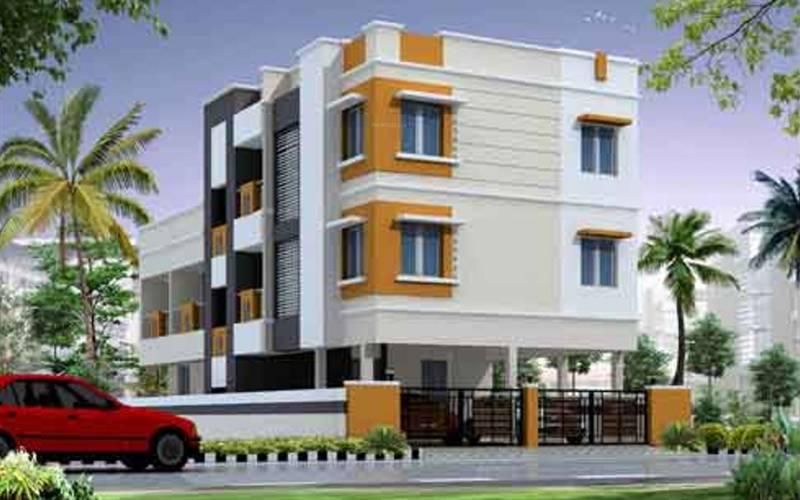 Images for Elevation of Vishnu Shashi Homes