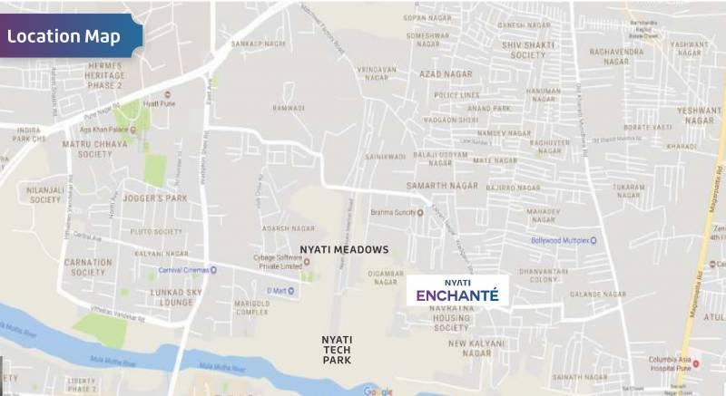 Images for Location Plan of Nyati Enchante III