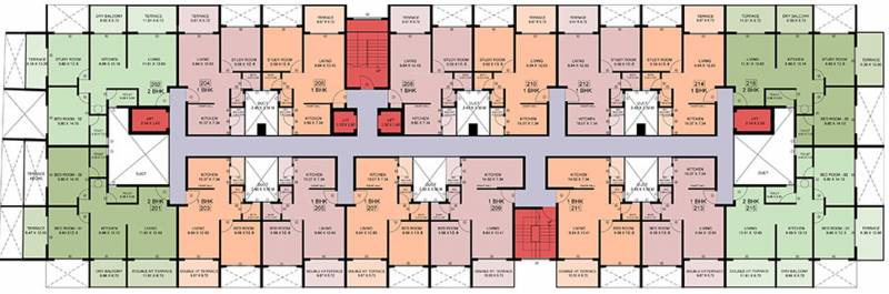 Images for Cluster Plan of Sharada Myria B And C Building