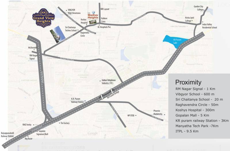 Images for Location Plan of K R Grand View Heights