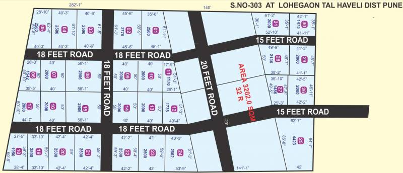 Images for Layout Plan of Swapnyog Jai Malhar City