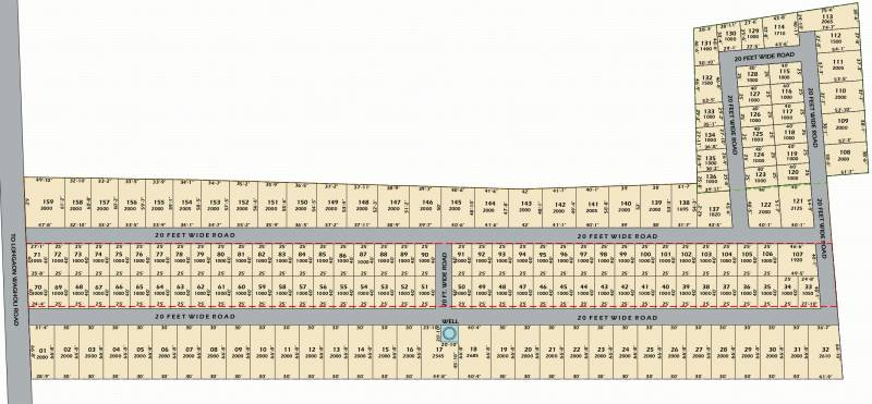 Images for Layout Plan of Swapnyog J K Meadows